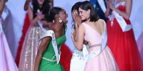 Video: Miss Nigeria Is Trending Globally For Her Heartwarming Reaction To Miss Jamaica Winning Miss World