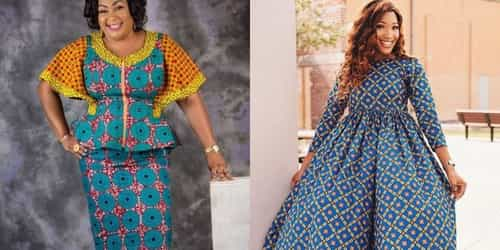 Ankara Dresses For The Fashionable Older Woman