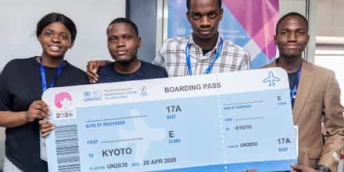 Nigerian Students Who built Software That 'Detects Child Predators', To Attend UN Conference In Kyoto