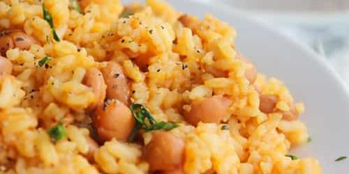 A Delicious Recipe On How To Cook Rice And Beans