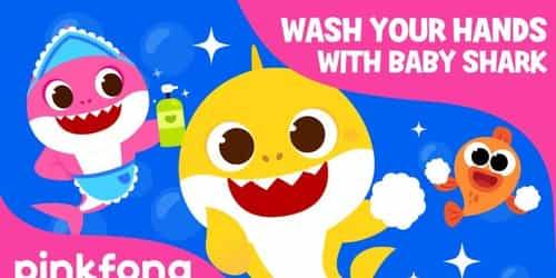 Watch The New Version Of The Popular Baby Shark Song And Wash Your Hands Do Do Do