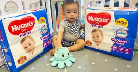 #TAPreview: Huggies Dry Pants with Huggies Dry Xpert Channel Technology