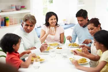 The importance of family mealtime
