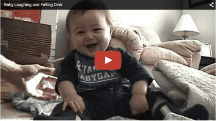 Funny baby video: Baby on a laughathon