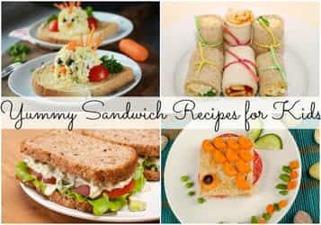 9 yummy sandwich recipes for your little ones