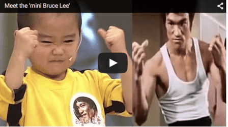 Is this five-year-old the next Bruce Lee?