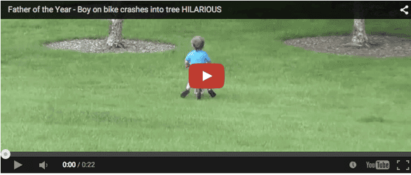 Is the 'dad' insane? Watch his unbelievable reaction at 0.13 seconds