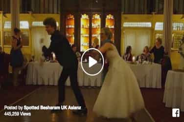 London Thumakda: UK couple groove to the beats of a Bollywood song at their wedding