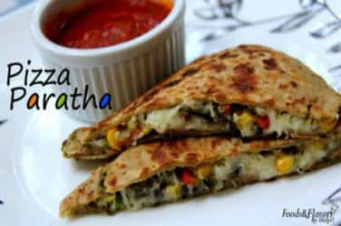 Must-watch: This pizza parantha recipe would be loved by your kids