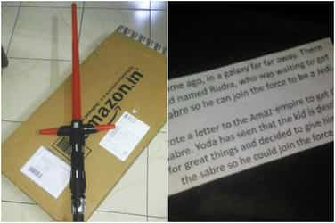 Delhi boy writes a letter to Amazon and receives the most epic response