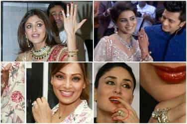 Who has the biggest of them all? The engagement rings of these actresses would make your jaw drop!