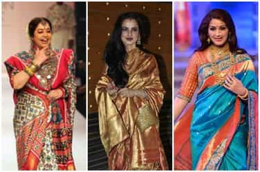 7 traditional Indian sarees every woman must have in her wardrobe
