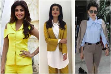 Rock the pant suit in this sweltering heat with these cool tips and tricks