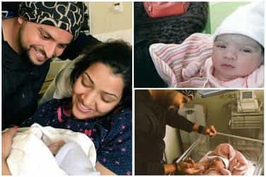 Cricketer Suresh Raina becomes father of a cute little baby girl 'Gracia'!