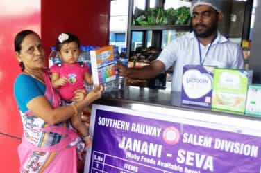 Good news! Indian Railways will now provide baby food at its major stations