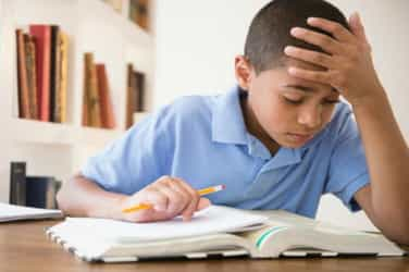 Putting your child under too much pressure can stop them from learning
