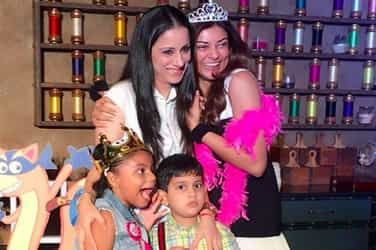 In Pics: Sushmita Sen celebrated Alisah's 7th birthday with the cutest theme ever!