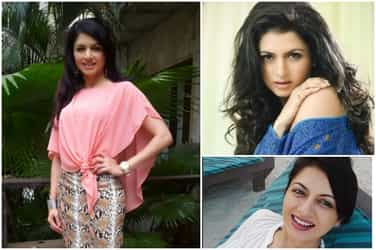 Stunning! Actress Bhagyashree defies age and looks drop dead gorgeous at the age of 47!