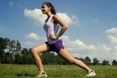 Simple exercises that anyone can do at home in no time at all