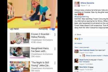 Do you know what your kids are watching on YouTube? Mom shares horror story