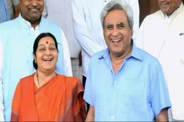 Here's proof that Minister of External Affairs Sushma Swaraj is a romantic at heart!