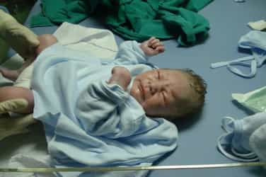 Unbelievable! 'Dead' baby starts crying just when she is about to be buried