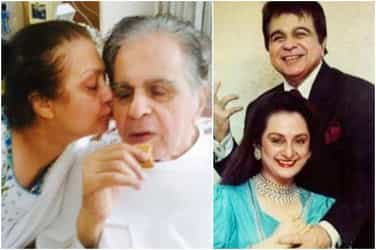 Yesteryear actors Saira Banu and Dilip Kumar show you what timeless love is all about!
