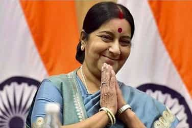 Bravo! Sushma Swaraj yet again proved that she really is a 'supermom'