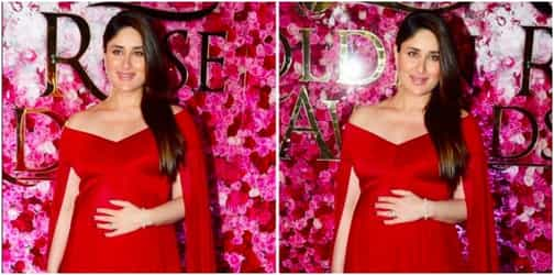 Kareena Kapoor Khan just stole the show with her gorgeous red baby bump