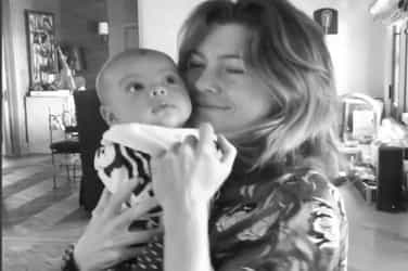 Watch and melt: Ellen Pompeo dances with her baby in this adorable video