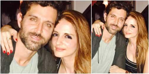 On 43rd birthday, Hrithik Roshan gets the SWEETEST wishes from ex-wife Sussanne!