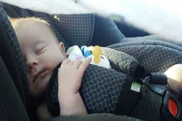 You use a car seat for your baby? This is India yaar, not America!
