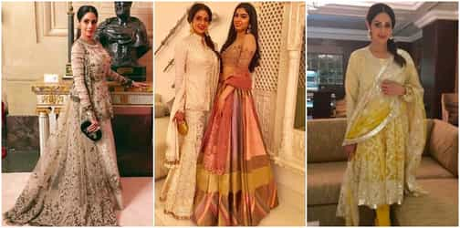 3 times supermum Sridevi showed us why she is the undisputed desi fashion queen