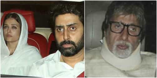As bahu Aishwarya comes to terms with her father's death, an emotional Amitabh Bachchan pens a touching note