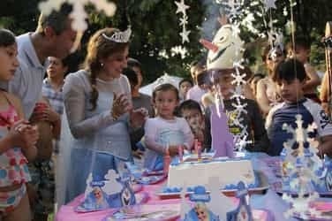 THIS dad feels that banks would soon offer loans to finance your child's birthday party