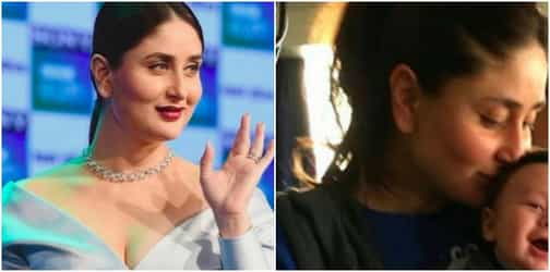 This picture of new mum Kareena kissing her son Taimur is breaking the Internet!