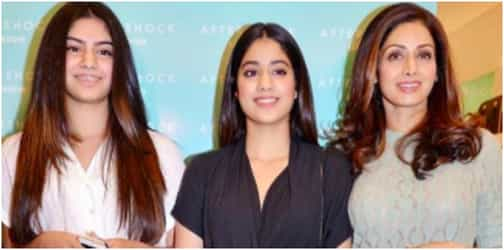 Sridevi shares candid details about how her daughters behave with her at home!