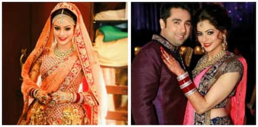 We just can't get over this adorable picture from Aamna Sharif's wedding!