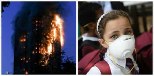 A mother's sacrifice: Child dropped from the 10th floor in London tower fire...