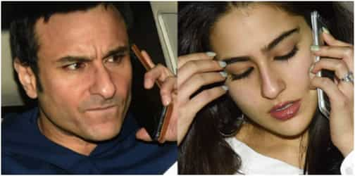 Daddy Saif is extremely unhappy with daughter Sara's career choice!