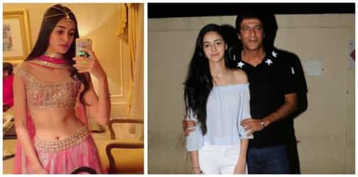 Chunky Pandey's daughter Ananya Pandey is making heads turn. Here's proof!