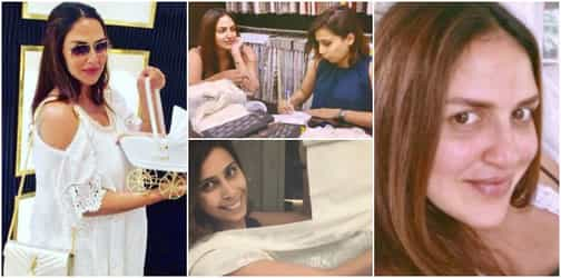 Esha Deol shared the first sneak peek of her baby's nursery! Have a look