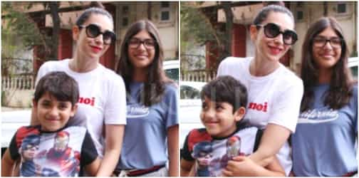 Single mum Karisma's grounded kids are proof of her fabulous parenting skills!
