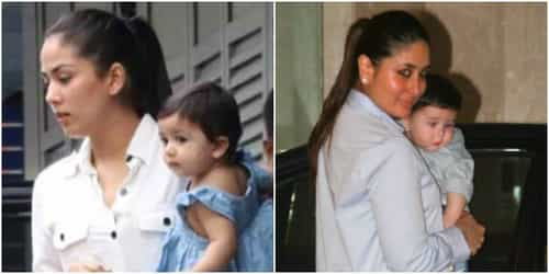 Kareena and Mira are warring over THIS issue because of Taimur and Misha
