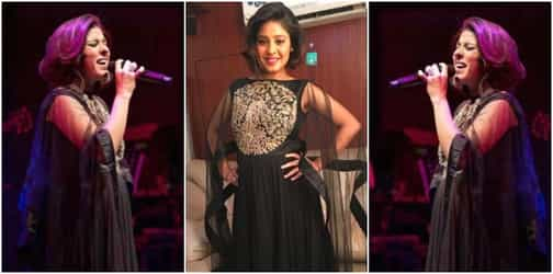 Finally! At six-months pregnant singer Sunidhi Chauhan debuts her baby bump