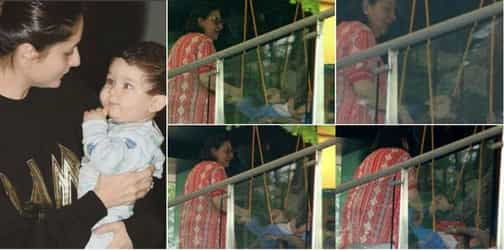 Aww! Little Taimur Ali Khan had a very special visitor at home