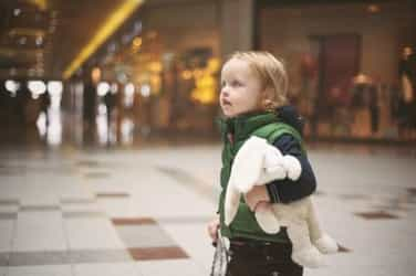 What happened when I found a child lost in a mall...