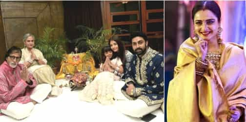 Aaradhya Bachchan accidentally bumped into Rekha and here's what happened