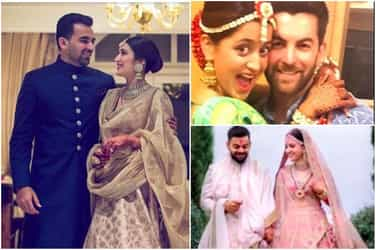 2017 rewind: A look at the celebs who got married this year