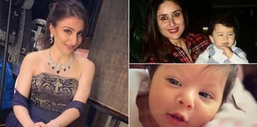 Here's why new mum Soha is not planning any playdates for Inaaya and Taimur